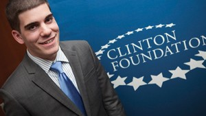 Internship with the Clinton Foundation, New York City