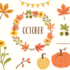 I love October because…