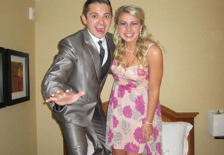 My date and I at Theta Chi's formal.