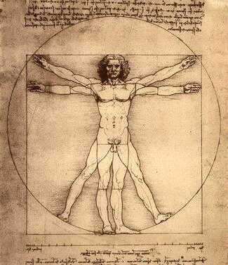 Image of Vitruvian Man