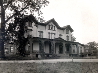 Historic picture of Cunard Hall
