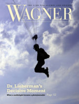 Cover of Wagner Magazine Fall 2016